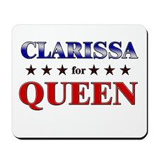 CLARISSA for queen Mousepad