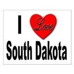 I Love South Dakota Small Poster