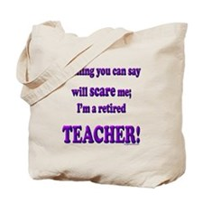 Cute Teacher retirement Tote Bag