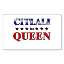CITLALI for queen Rectangle Decal
