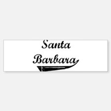 Santa Barbara (vintage] Bumper Bumper Bumper Sticker