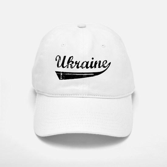 Ukraine (vintage] Baseball Baseball Cap