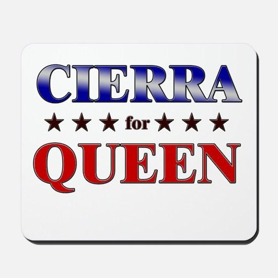 CIERRA for queen Mousepad