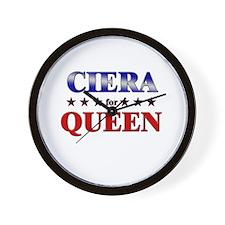 CIERA for queen Wall Clock