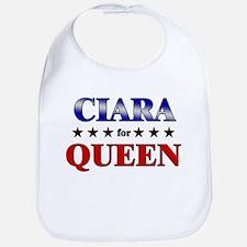 CIARA for queen Bib