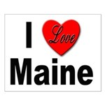 I Love Maine Small Poster