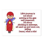 Life's Journey Scooter Postcards (Package of 8)