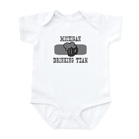 Michigan Drinking Team Infant Bodysuit