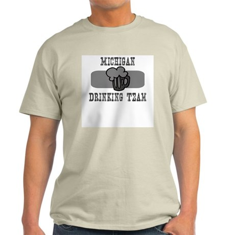 Michigan Drinking Team Light T-Shirt