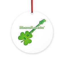 ShamRockin' Ornament (Round)