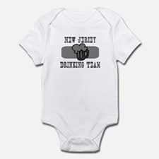 New Jersey Drinking Team Infant Bodysuit
