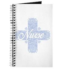 Nurse Blue Lacy Cross Journal