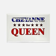 CHEYANNE for queen Rectangle Magnet