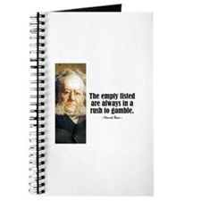 "Ibsen ""Empty Fisted"" Journal"