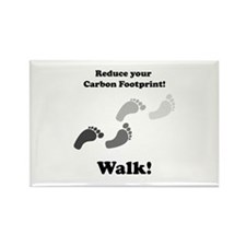 Carbon Footprint Rectangle Magnet (100 pack)