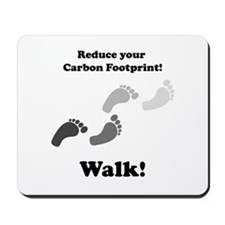 Carbon Footprint Mousepad
