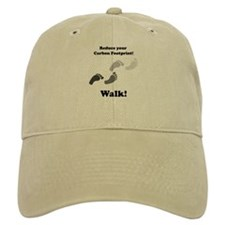 Carbon Footprint Baseball Cap