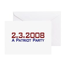A Patriot Party Greeting Card