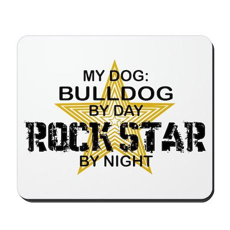 Bulldog RockStar Mousepad