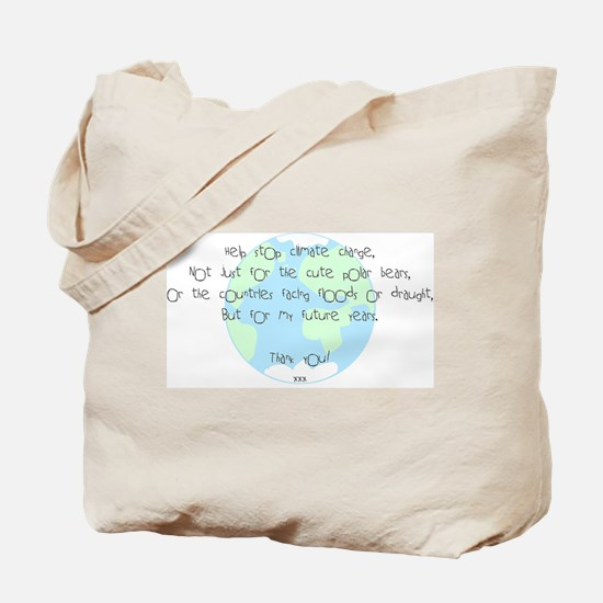 For My Future! Tote Bag