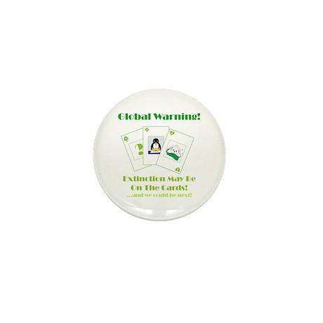 Global Warning Mini Button (10 pack)