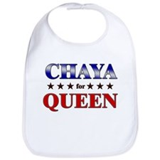 CHAYA for queen Bib
