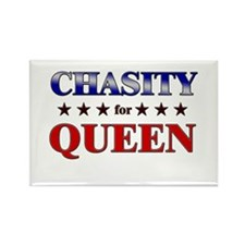 CHASITY for queen Rectangle Magnet