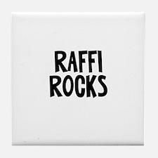 Raffi Rocks Tile Coaster