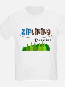 ziplines survivor 4.PNG T-Shirt
