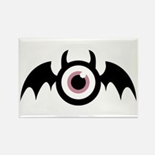 Wing Eye Rectangle Magnet