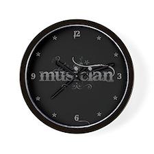 Urban Musician Wall Clock