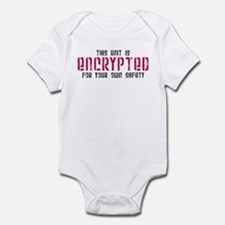 This Unit is Encrypted Infant Bodysuit