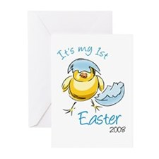 It's My First Easter '08 Greeting Cards (Pk of 10)