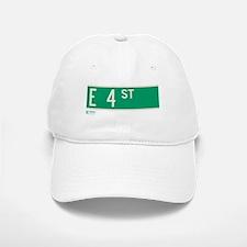 4th Street in NY Baseball Baseball Cap