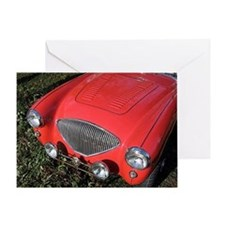 Greeting Card - Austin-Healy