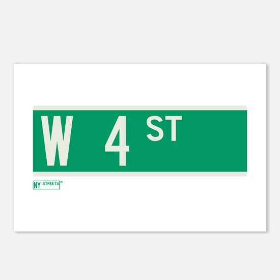 4th Street in NY Postcards (Package of 8)