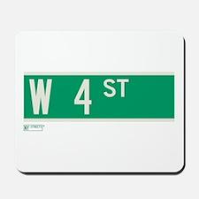 4th Street in NY Mousepad