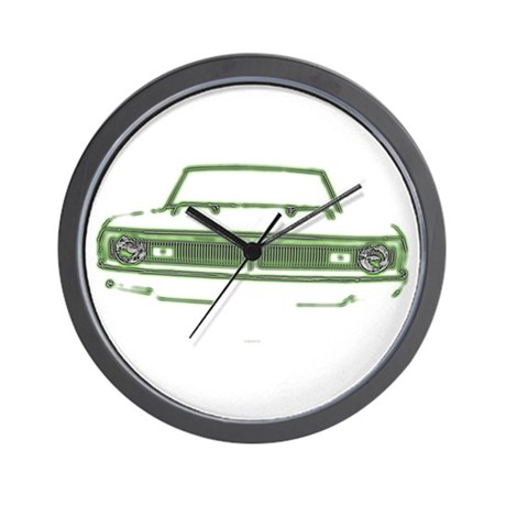 King Of The Swing Wall Clock