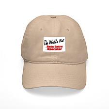 """""""The World's Best Data Entry Operator"""" Baseball Cap"""