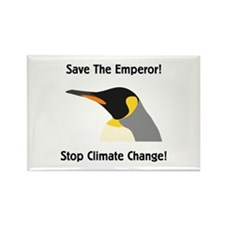 Save The Emperor! Rectangle Magnet