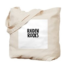 Raiden Rocks Tote Bag