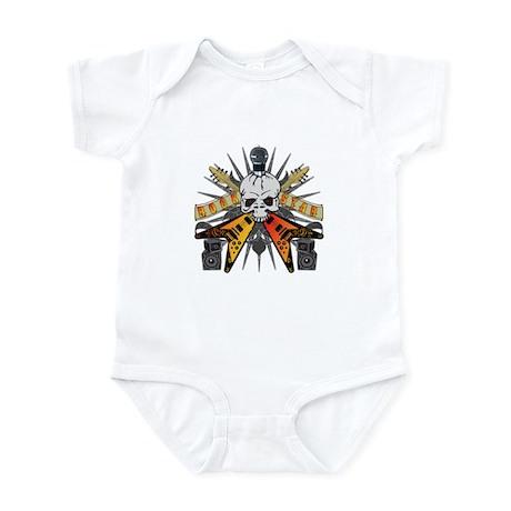 Rock Star Skull Infant Bodysuit