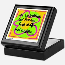 Friends That Matter Keepsake Box