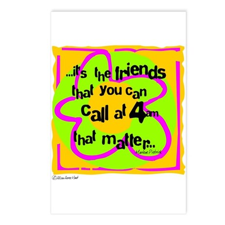 Friends That Matter Postcards (Package of 8)