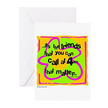 Friends That Matter Greeting Cards (Pk of 10)