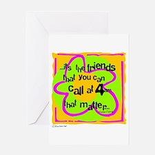Friends That Matter Greeting Card
