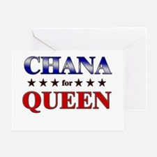 CHANA for queen Greeting Card