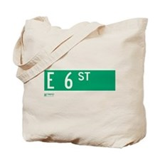 6th Street in NY Tote Bag
