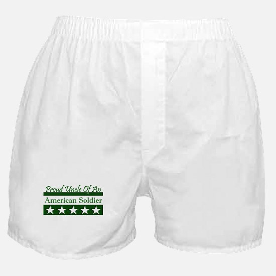 Uncle of an American Soldier Boxer Shorts