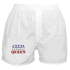 CELIA for queen Boxer Shorts